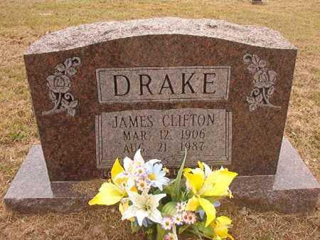 DRAKE, JAMES CLIFTON - Nevada County, Arkansas | JAMES CLIFTON DRAKE - Arkansas Gravestone Photos