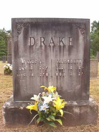 DRAKE, MARGRETT J - Nevada County, Arkansas | MARGRETT J DRAKE - Arkansas Gravestone Photos