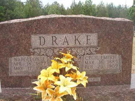 DRAKE, CECIL EMERIE - Nevada County, Arkansas | CECIL EMERIE DRAKE - Arkansas Gravestone Photos