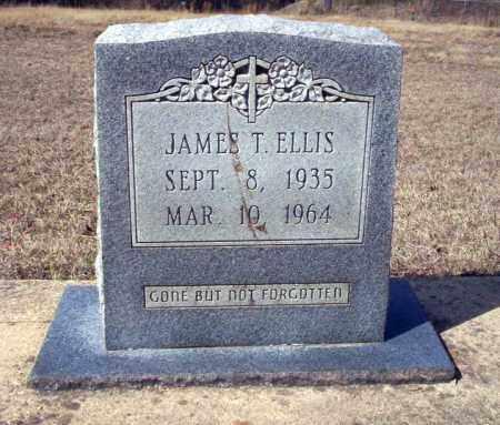 ELLIS, JAMES T - Nevada County, Arkansas | JAMES T ELLIS - Arkansas Gravestone Photos