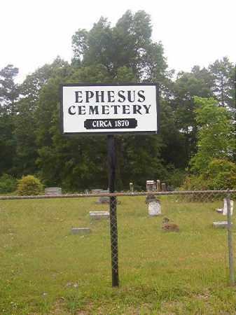 *EPHESUS, CEMETERY - Nevada County, Arkansas | CEMETERY *EPHESUS - Arkansas Gravestone Photos