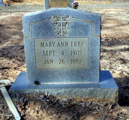 ERBY, MARY ANN - Nevada County, Arkansas | MARY ANN ERBY - Arkansas Gravestone Photos