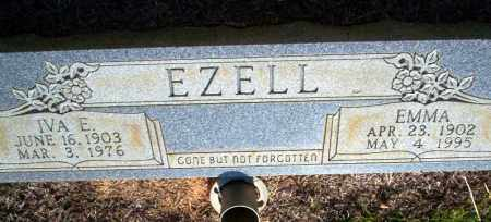 EZELL, EMMA - Nevada County, Arkansas | EMMA EZELL - Arkansas Gravestone Photos