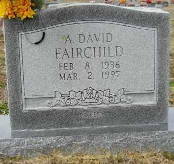 FAIRCHILD, A DAVID - Nevada County, Arkansas   A DAVID FAIRCHILD - Arkansas Gravestone Photos