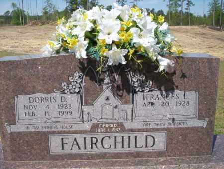 FAIRCHILD, DORRIS D - Nevada County, Arkansas   DORRIS D FAIRCHILD - Arkansas Gravestone Photos