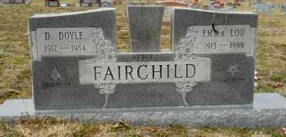 FAIRCHILD, D DOYLE - Nevada County, Arkansas | D DOYLE FAIRCHILD - Arkansas Gravestone Photos
