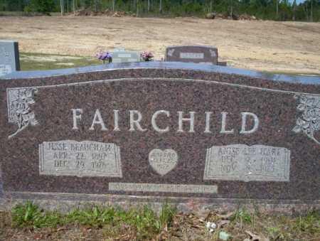 FAIRCHILD, ANISE LEE - Nevada County, Arkansas | ANISE LEE FAIRCHILD - Arkansas Gravestone Photos