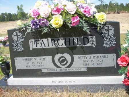 FAIRCHILD, BETTY J - Nevada County, Arkansas | BETTY J FAIRCHILD - Arkansas Gravestone Photos