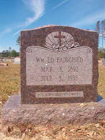 FAIRCHILD, WILLIAM ED - Nevada County, Arkansas | WILLIAM ED FAIRCHILD - Arkansas Gravestone Photos