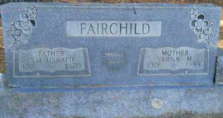 FAIRCHILD, VERNA M - Nevada County, Arkansas | VERNA M FAIRCHILD - Arkansas Gravestone Photos