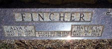 FINCHER, ALVA C - Nevada County, Arkansas | ALVA C FINCHER - Arkansas Gravestone Photos