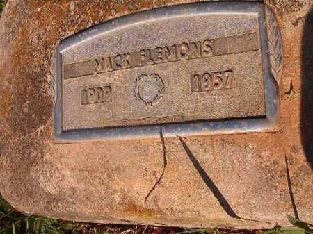 FLEMONS, MACK - Nevada County, Arkansas   MACK FLEMONS - Arkansas Gravestone Photos