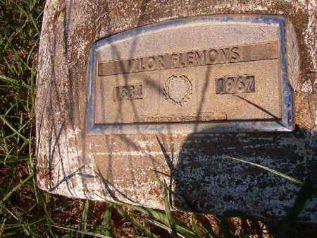FLEMONS, VILOR - Nevada County, Arkansas | VILOR FLEMONS - Arkansas Gravestone Photos