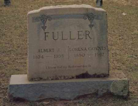 FULLER, ALBERT J - Nevada County, Arkansas | ALBERT J FULLER - Arkansas Gravestone Photos