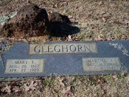 GLEGHORN, MARY E - Nevada County, Arkansas | MARY E GLEGHORN - Arkansas Gravestone Photos