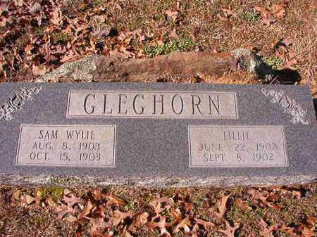 GLEGHORN, LILLIE - Nevada County, Arkansas | LILLIE GLEGHORN - Arkansas Gravestone Photos