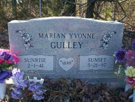GULLEY, MARIAN YVONNE - Nevada County, Arkansas   MARIAN YVONNE GULLEY - Arkansas Gravestone Photos