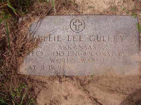 GULLEY (VETERAN WWII), WILLIE LEE - Nevada County, Arkansas | WILLIE LEE GULLEY (VETERAN WWII) - Arkansas Gravestone Photos