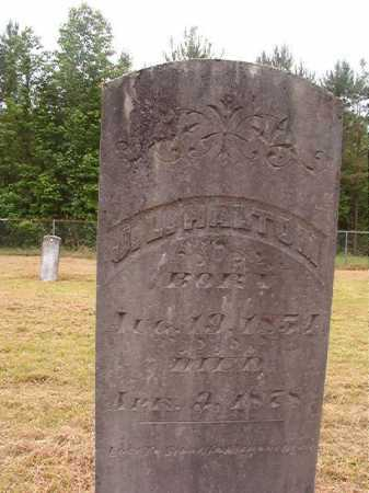 HALTOM, J L - Nevada County, Arkansas | J L HALTOM - Arkansas Gravestone Photos