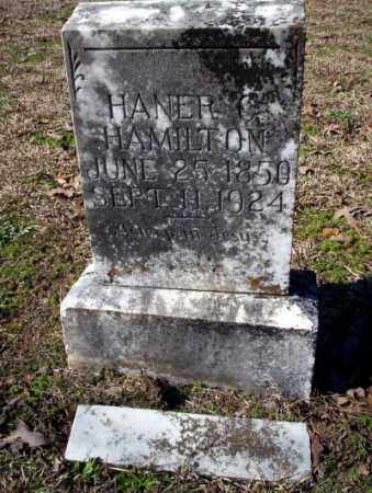 HAMILTON, HANER C - Nevada County, Arkansas | HANER C HAMILTON - Arkansas Gravestone Photos