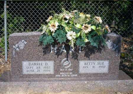 HART, DARREL D - Nevada County, Arkansas | DARREL D HART - Arkansas Gravestone Photos