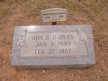 HARVEY, ADA S - Nevada County, Arkansas | ADA S HARVEY - Arkansas Gravestone Photos