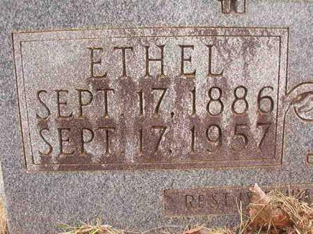 HAY, ETHEL - Nevada County, Arkansas | ETHEL HAY - Arkansas Gravestone Photos