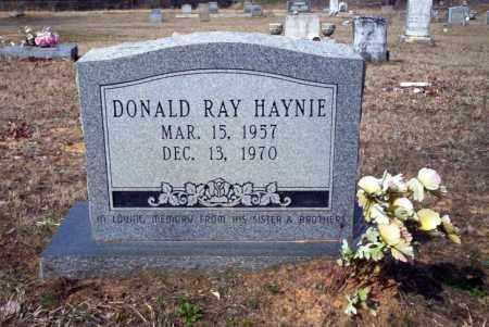 HAYNIE, DONALD RAY - Nevada County, Arkansas | DONALD RAY HAYNIE - Arkansas Gravestone Photos