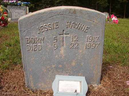HAYNIE, JESSIE - Nevada County, Arkansas | JESSIE HAYNIE - Arkansas Gravestone Photos