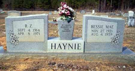 HAYNIE, R.Z. - Nevada County, Arkansas   R.Z. HAYNIE - Arkansas Gravestone Photos