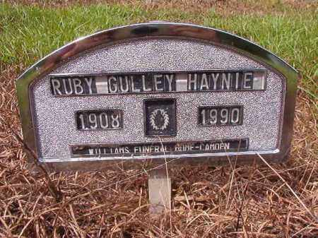 HAYNIE, RUBY - Nevada County, Arkansas | RUBY HAYNIE - Arkansas Gravestone Photos
