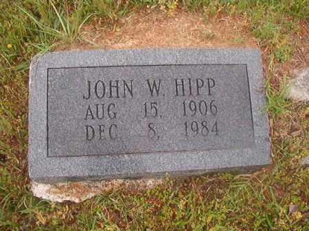 HIPP, JOHN W - Nevada County, Arkansas | JOHN W HIPP - Arkansas Gravestone Photos