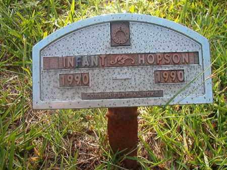 HOPSON, INFANT - Nevada County, Arkansas | INFANT HOPSON - Arkansas Gravestone Photos