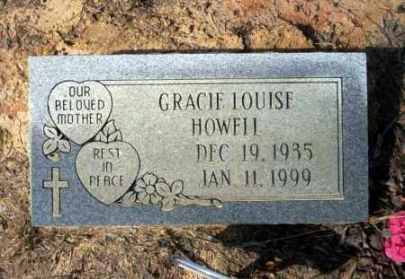 HOWELL, GRACIE LOUISE - Nevada County, Arkansas | GRACIE LOUISE HOWELL - Arkansas Gravestone Photos
