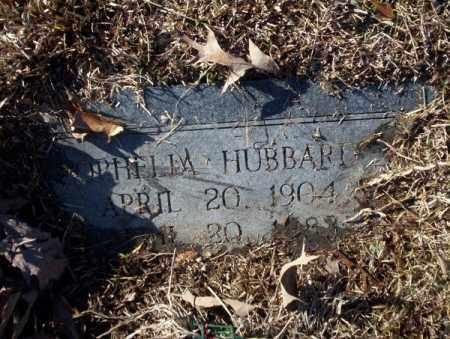 HUBBARD, OPHELIA - Nevada County, Arkansas | OPHELIA HUBBARD - Arkansas Gravestone Photos