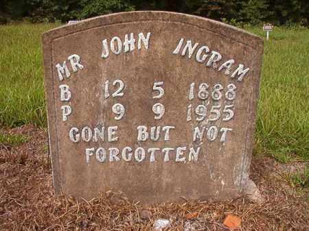 INGRAM, JOHN - Nevada County, Arkansas | JOHN INGRAM - Arkansas Gravestone Photos