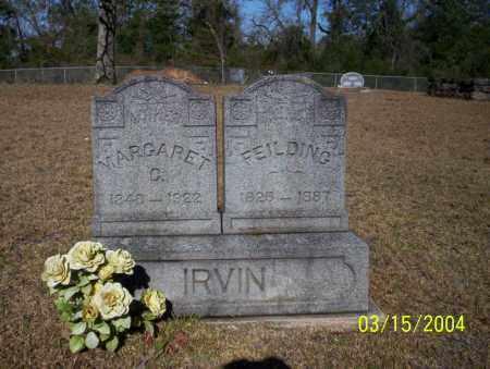 IRVIN, MARGARET G - Nevada County, Arkansas | MARGARET G IRVIN - Arkansas Gravestone Photos