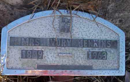 JENKINS, IVORY  FUNERAL MARKER - Nevada County, Arkansas | IVORY  FUNERAL MARKER JENKINS - Arkansas Gravestone Photos