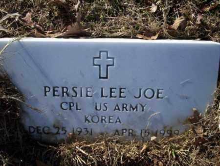 JOE  (VETERAN KOR), PERSIE LEE - Nevada County, Arkansas | PERSIE LEE JOE  (VETERAN KOR) - Arkansas Gravestone Photos