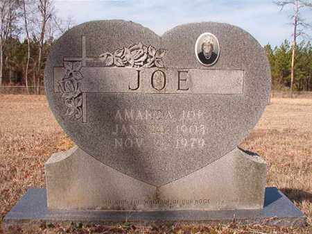 JOE, AMANDA - Nevada County, Arkansas | AMANDA JOE - Arkansas Gravestone Photos