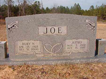 JOE, JEFFRO - Nevada County, Arkansas | JEFFRO JOE - Arkansas Gravestone Photos