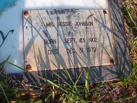 JOHNSON, JESSIE - Nevada County, Arkansas   JESSIE JOHNSON - Arkansas Gravestone Photos