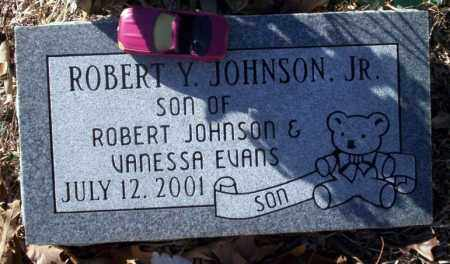 JOHNSON JR., ROBERT Y - Nevada County, Arkansas | ROBERT Y JOHNSON JR. - Arkansas Gravestone Photos