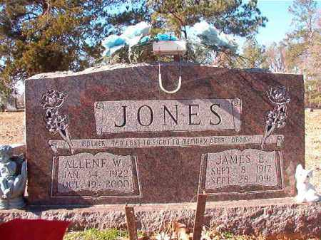 JONES, ALLENE W - Nevada County, Arkansas | ALLENE W JONES - Arkansas Gravestone Photos