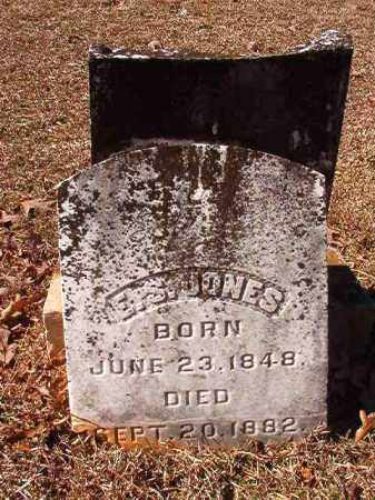 JONES, E S - Nevada County, Arkansas | E S JONES - Arkansas Gravestone Photos