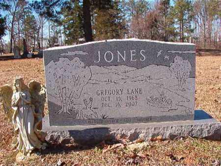JONES, GREGORY LANE - Nevada County, Arkansas | GREGORY LANE JONES - Arkansas Gravestone Photos