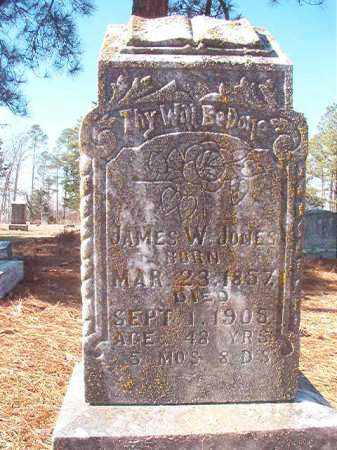 JONES, JAMES W - Nevada County, Arkansas | JAMES W JONES - Arkansas Gravestone Photos