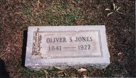 JONES  (VETERAN CSA), OLIVER SMITH - Nevada County, Arkansas | OLIVER SMITH JONES  (VETERAN CSA) - Arkansas Gravestone Photos
