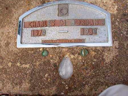 JORDAN, CHARLES M - Nevada County, Arkansas | CHARLES M JORDAN - Arkansas Gravestone Photos