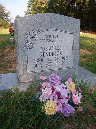 KENDRICK, VASSIE LEE - Nevada County, Arkansas | VASSIE LEE KENDRICK - Arkansas Gravestone Photos